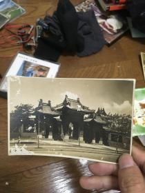 日本老照片 吉林长春 护国般若寺