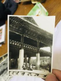 日本老照片 应该是韩国汉城 首尔 照片后有字