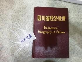 四川省经济地理   硬精装  870多页厚  品相如图