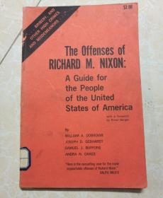 The offenses of RICHARD M.NIXON