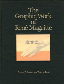 The Graphic Work of Rene Magritte  勒内·马格里特版画作品  28.5cm×22cm 限量2000部