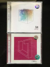 Dead J《心象》《幻术》双张合售 亚洲第一个在Tresor发行专辑的SHAO早期绝版原碟CD唱片