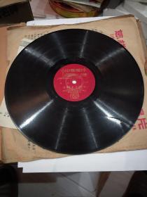 老唱片。《没有眼泪,没有悲伤。》王玉珍领唱。有歌单。