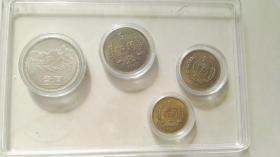 1986年长城币一套