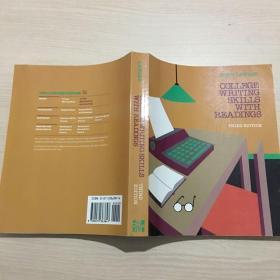 英文原版 College Writing Skills with Readings(third edition) 3rd Edition品佳