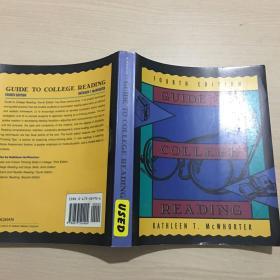 英文原版 Guide to College Reading (FOURTH EDITION)