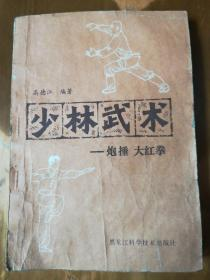 少林武术——炮捶  大红拳(1版1印)(品如图,余较好)