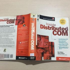 英文原版 Inside Distributed COM(附光盘,私藏,前几页有下划线)