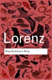 英文版 King Solomons Ring 所罗门王的指环 康拉德·劳伦兹 平装软皮