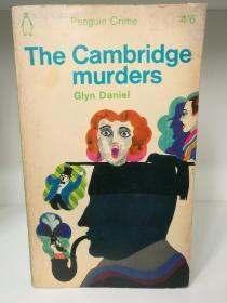 The Cambridge Murders by Glyn Daniel (英国犯罪小说)英文原版书