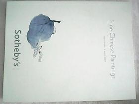 SOTHEBYS苏富比 2009年fine chinese paintings中国书画 专场拍卖图录  001
