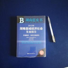 湖南蓝皮书:2015年湖南县域经济社会发展报告