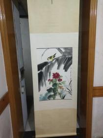 曾任中国美术学院教授、西泠书画院副院长,西泠印社顾问.陆抑非绘画.画心尺寸68*45,保真.