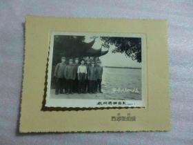 军装 演唱组来杭留念 1965年