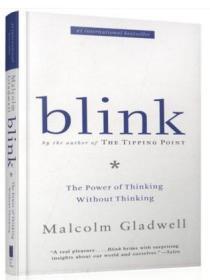 Blink 眨眼之间决断两秒间 马尔科姆.格拉德威尔 英文原版小说 心理学 课外读物
