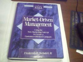 Market-Driven Management 英文原版 精装16开