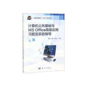 计算机公共基础与MS Office高级应用习题及实验指导