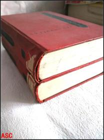 三国演义 (全二册)馆藏本 1954年俄文版    ASC