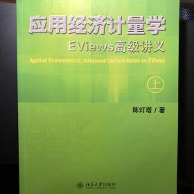 应用经济计量学:EViews高级讲义(上、下册)