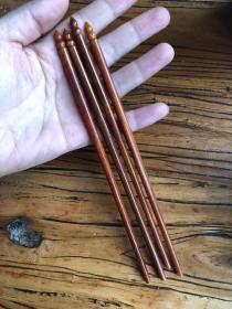 旧藏牛骨筷子两双 低价结缘