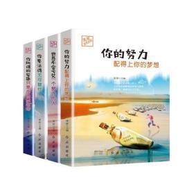 无可替代的你 你的努力配得上你的梦想(全4册)此书不单发  K35