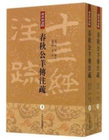 春秋公羊传注疏(全二册)上海古籍出版社