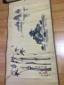 杨少全国画竹子(四川雅纸画院院长)