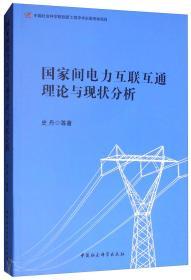 国家间电力互联互通理论与现状分析