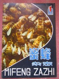 蜜蜂杂志1982年第1期  干净品佳