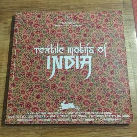 TEXTILE MOTIFS OF INDIA印度的纺织品设计