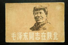 毛泽东同志在陕北【彩色连环画】