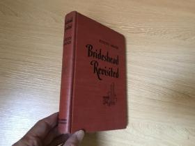 """(私藏)Brideshead Revisited    伊夫林·沃《兴仁岭重临记》(旧地重游、故园风雨后),林以亮(宋淇)曾译部分,  董桥:瓦欧到底是""""最忍得住情的一位作家""""。布面精装,1945年老版书"""