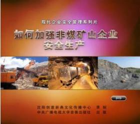 2019年安全月如何加强非煤矿山企业安全生产2DVD矿山安全生产y