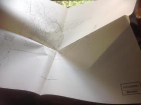 买满就送   日本有名庭园实测图纸 第28 红叶谷庭园整备图 , 一张图纸