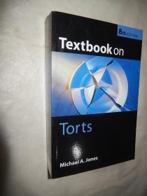 Textbook on Torts (8th edition) 英文原版 现货正版