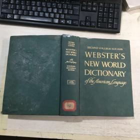 WEBSTERS NEW WORLD DICTIONARY韦氏新世界美国英语词典(英文)精装