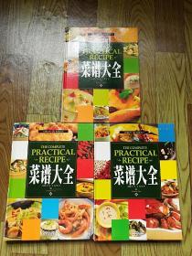 菜谱大全 全三册