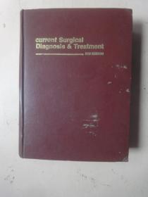 current SurgicaI Diagnosis    Treatment 《现代外科诊断和治疗》第4版