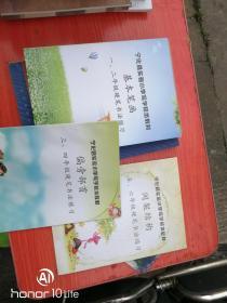宁化县实验小学写字校本教材  三本合售