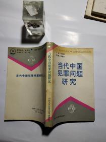 当代中国犯罪问题研究