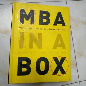 MBA in a Box  Practical Ideas from the Best Brai