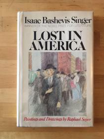 辛格自传《迷失美国》(签名本,精装带书衣,1981年初版,私藏)