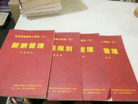 企业系统建设工具包 (三薪酬管理十五生涯规划十六培训管理十七招聘管理)四册合售