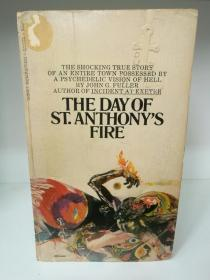 The Day of St. Anthonys Fire by John Fuller (英国文学)英文原版书