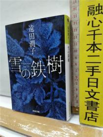 逺田润子 雪の铁树 日文原版64开光文社文库版小说书と 远田润子