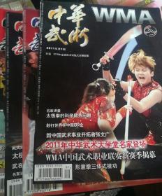 中华武术2011年(11本,少5)全