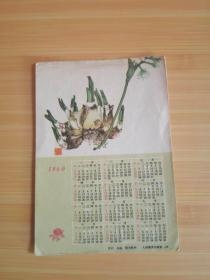 1960年历片:水仙