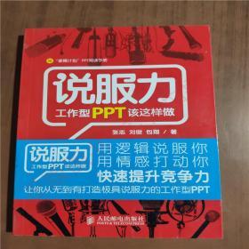 说服力:工作型PPT该这样做(正版二手旧书)9787115248282