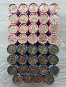 送圆盒 美国2007-2016年总统币纪念币39枚大全套 卷拆UNC硬币
