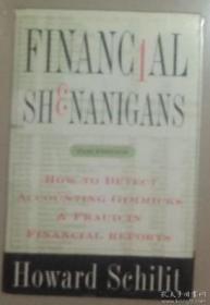 英文原版 Financial Shenanigans 著 精装大开本
